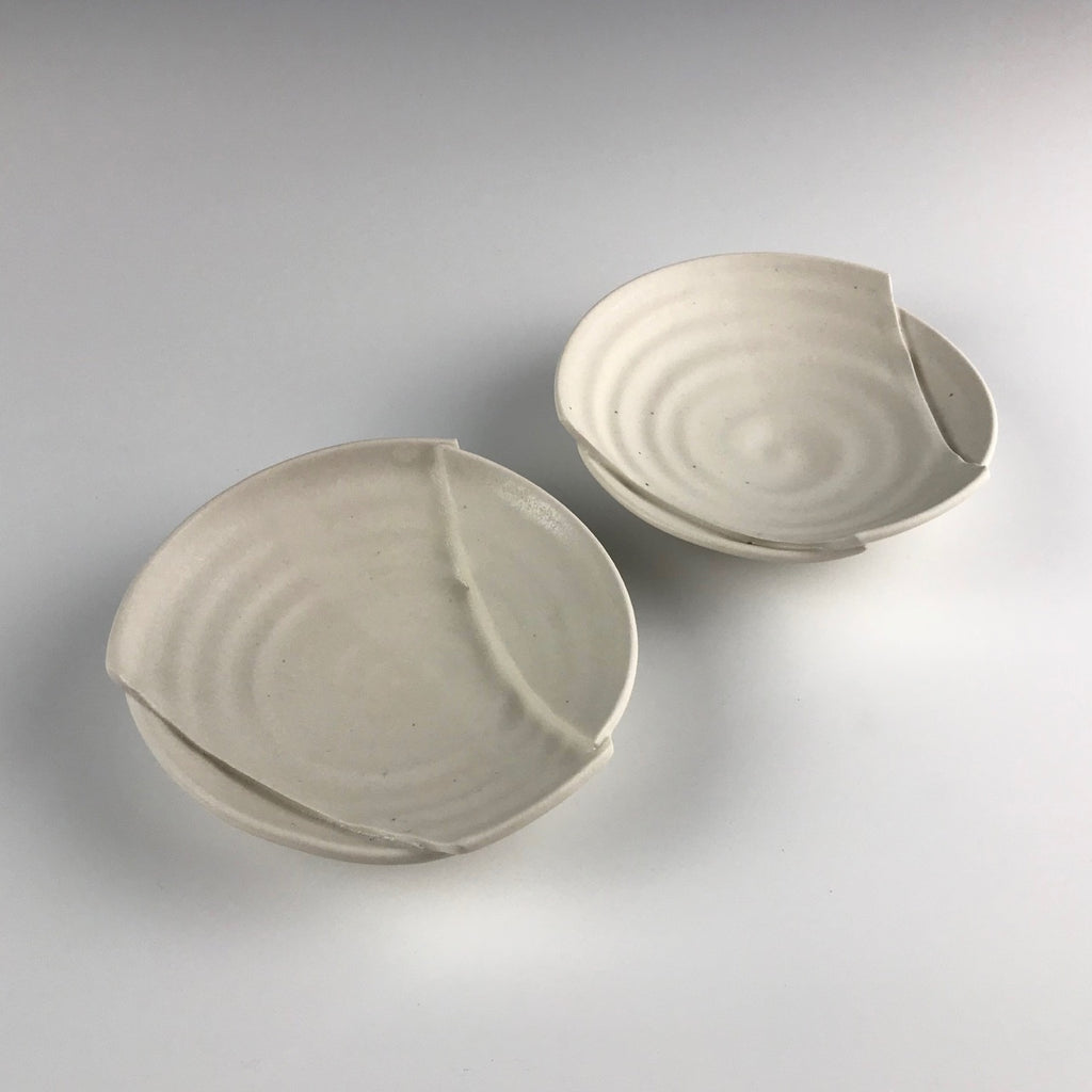 Monica Rudquist set of appetizer plates