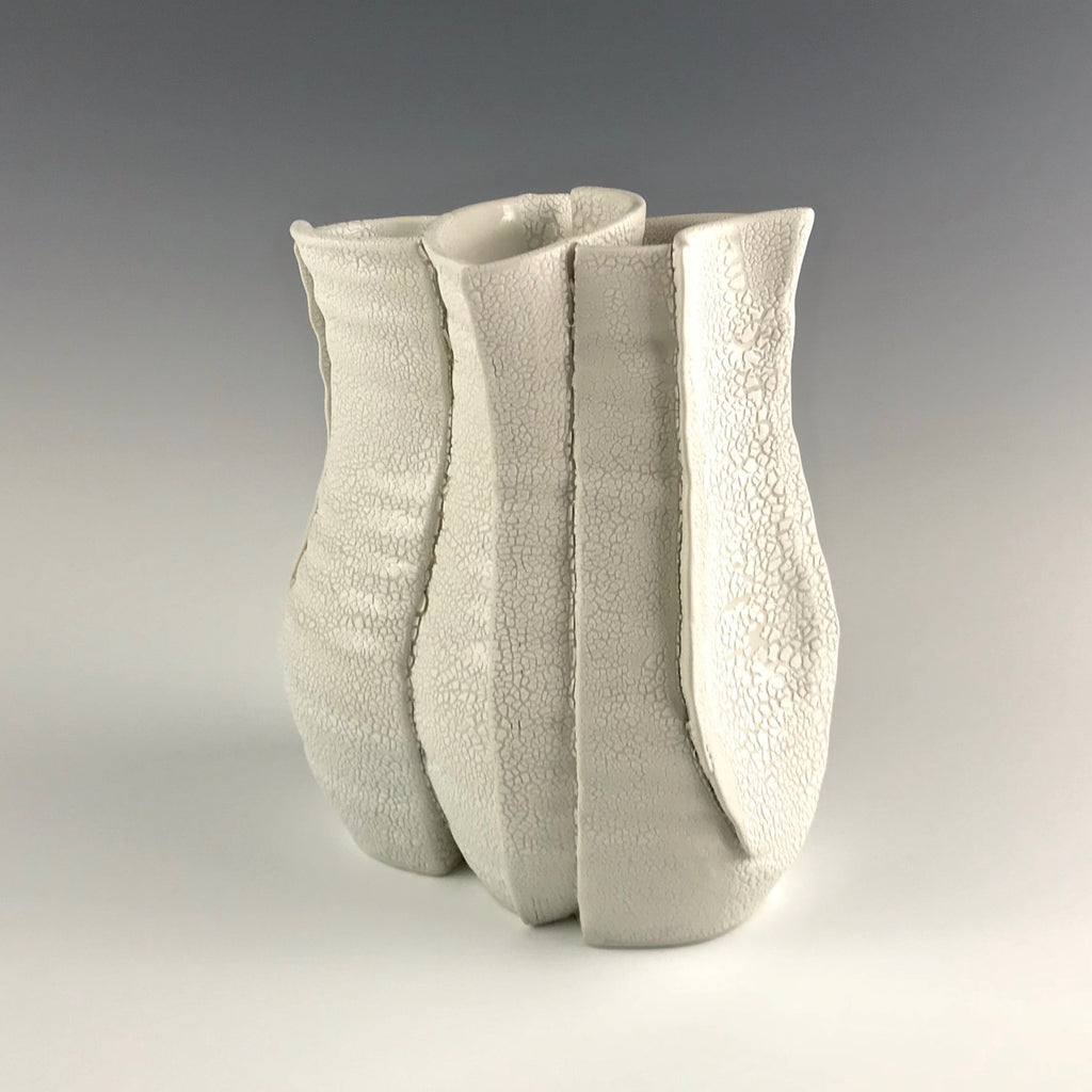 Monica Rudquist Intersecting vase