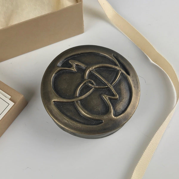 Michelle Kaisersatt bronze keepsake box, Life's Path