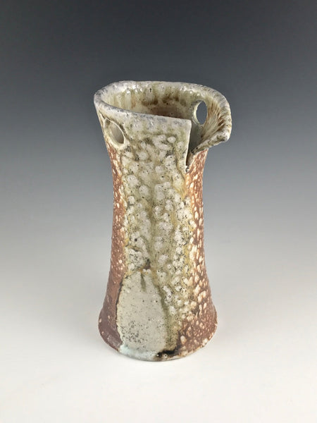 Arakawa Pottery medium woodfired vase