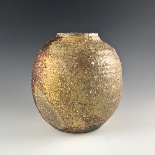 Arakawa Pottery altered woodfired vase