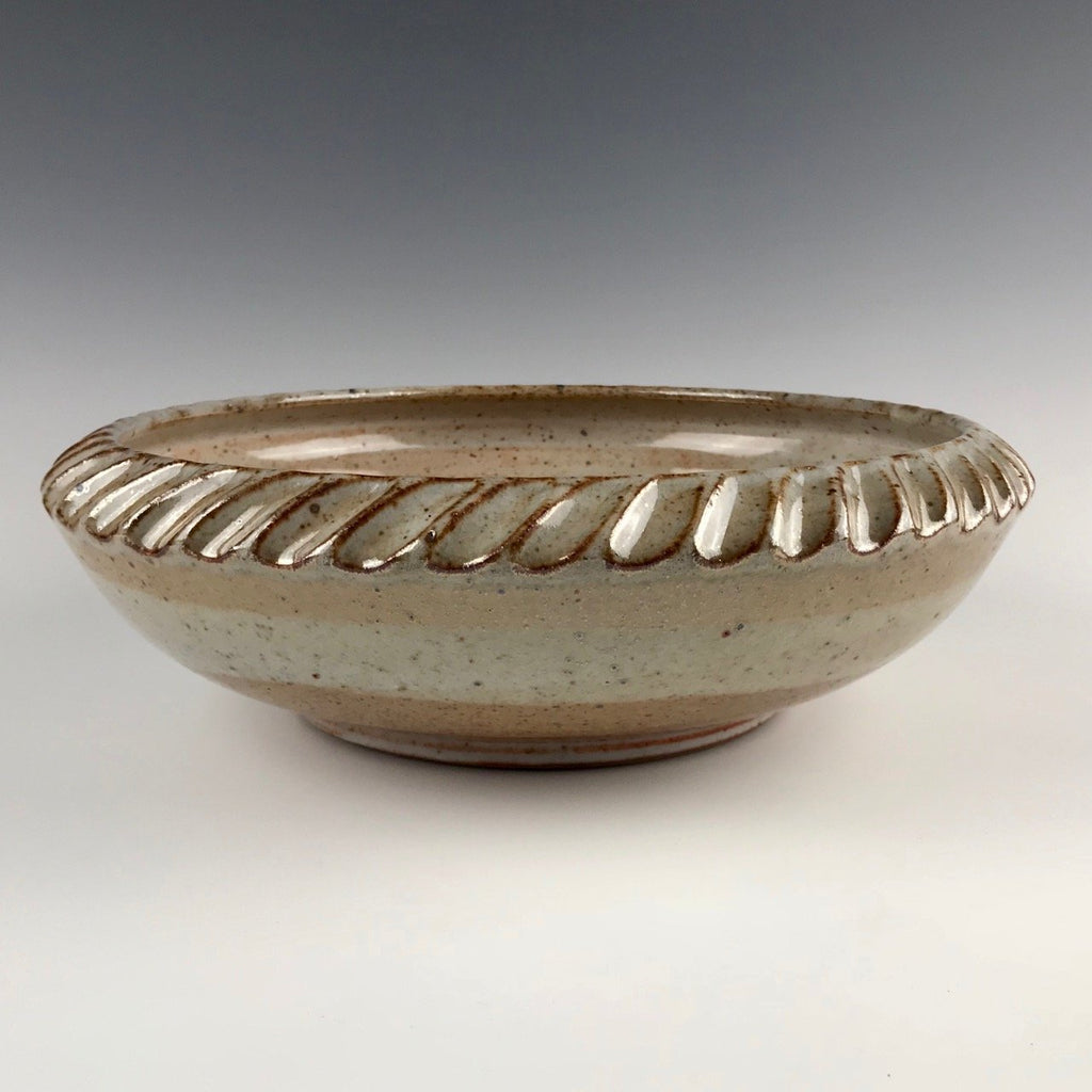 Will Swanson large fluted serving bowl