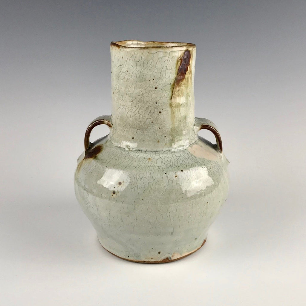 Rick Hintze handled vase