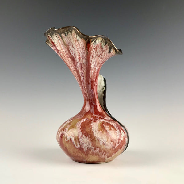 Susan Anderson vase, Fluted Swirl