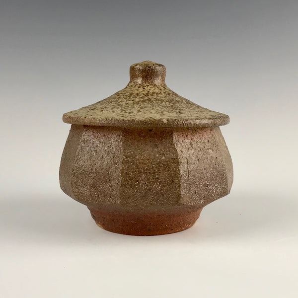 Will Ruggles, Rock Creek Pottery, lidded jar