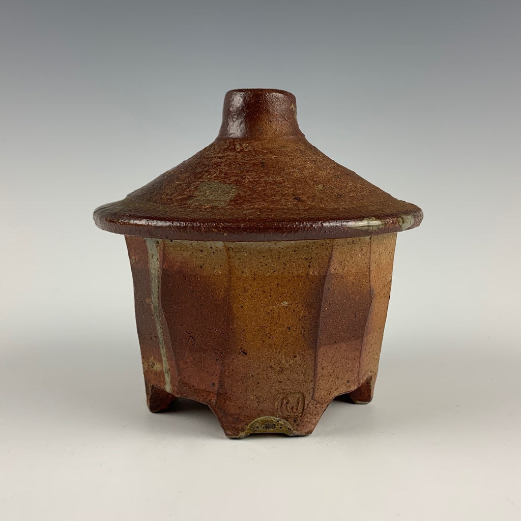 Randy Johnston covered jar
