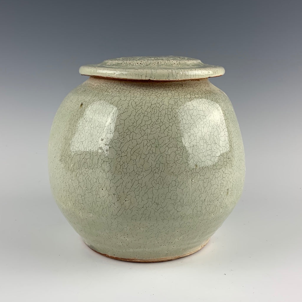 Warren MacKenzie covered jar