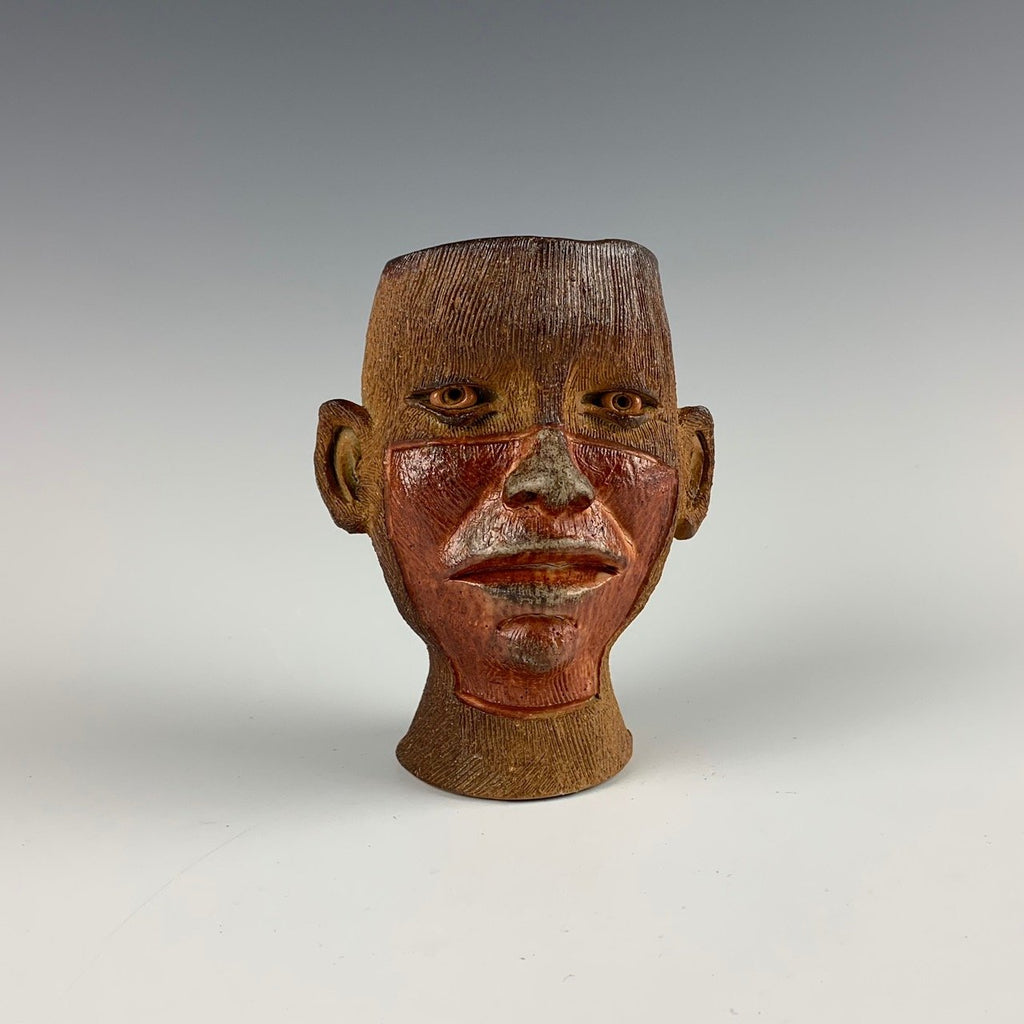 Ryan Myers woodfired whiskey face cup