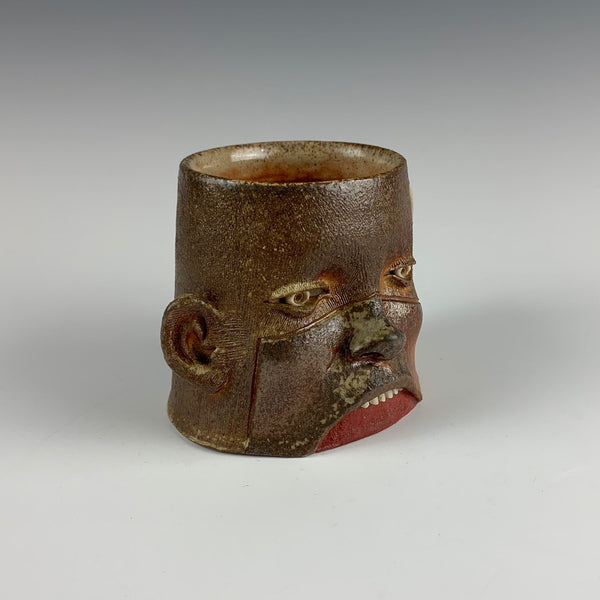 Ryan Myers woodfired face mug
