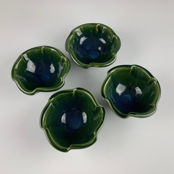 Guillermo Cuellar dessert bowls, set of four
