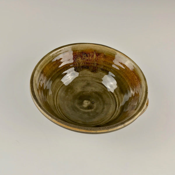 Seth Cardew handled serving bowl