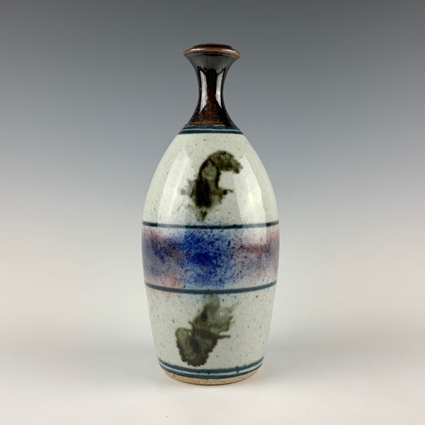 Tom Coleman bottle-form bud vase