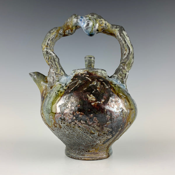 Joe Christensen woodfired teapot
