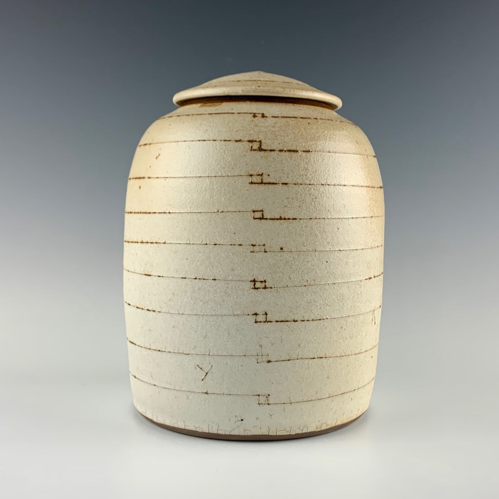 Rick Hintze large lidded jar