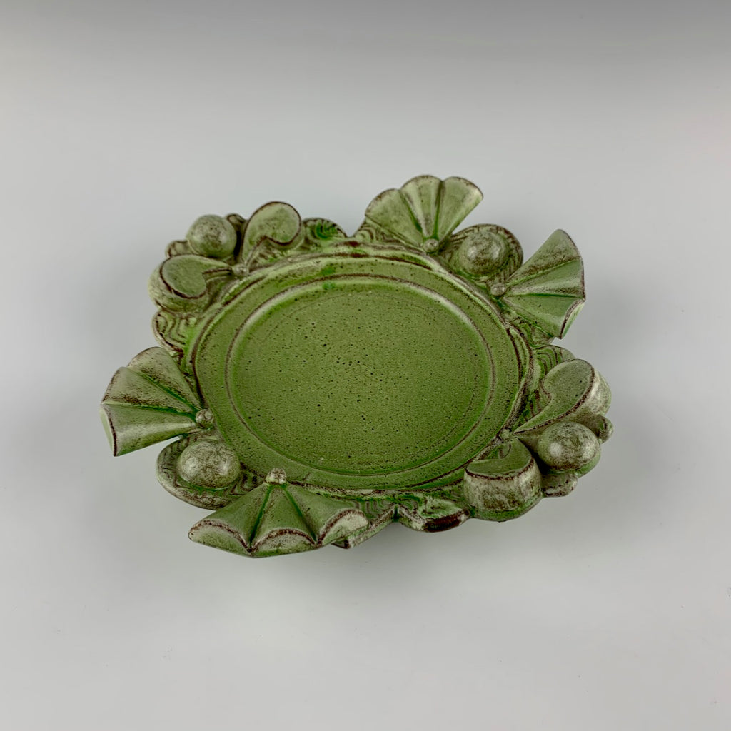 Pete Scherzer Art Deco inspired dish