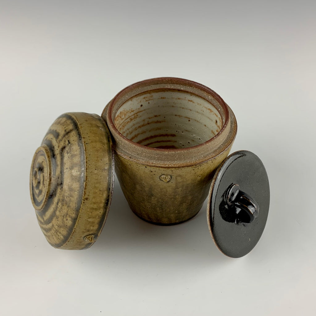 Willem Gebben double lidded jar