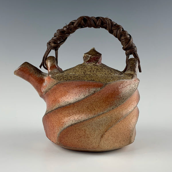 David Caradori woodfired teapot