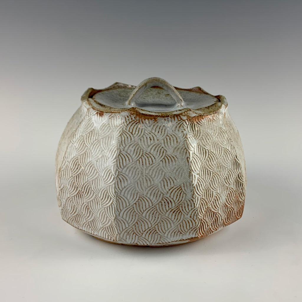 David Caradori medium lidded tea jar