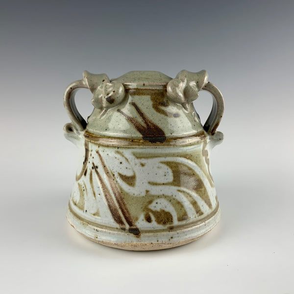 John Schulps (CA) vase or oil lamp
