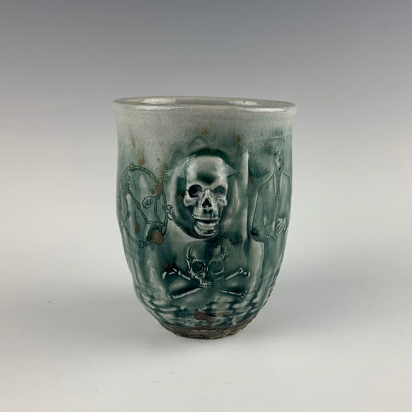 Ehren Tool cup, skulls and businessmen
