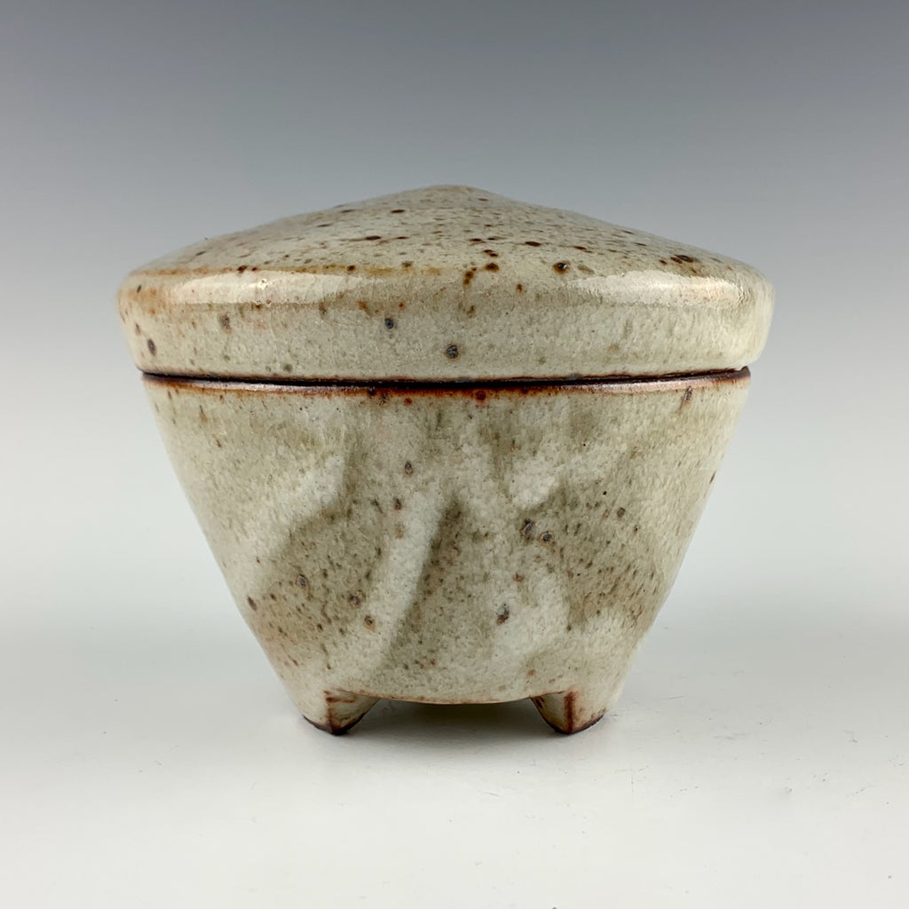 Guillermo Cuellar lidded jar