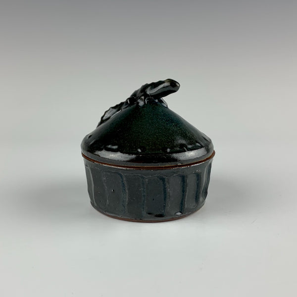 Willem Gebben lidded box, lizard
