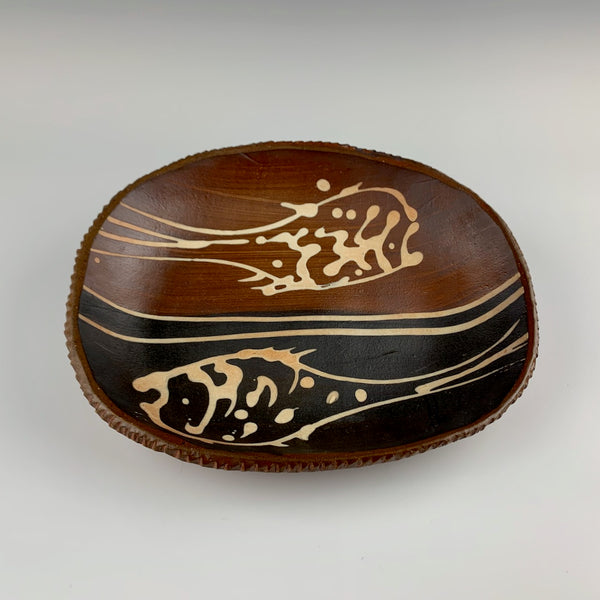 Willem Gebben medium tray, fish motif
