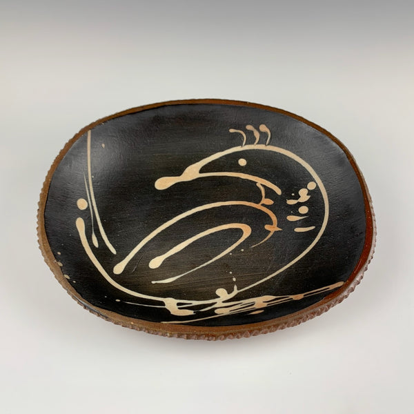 Willem Gebben medium tray, bird motif