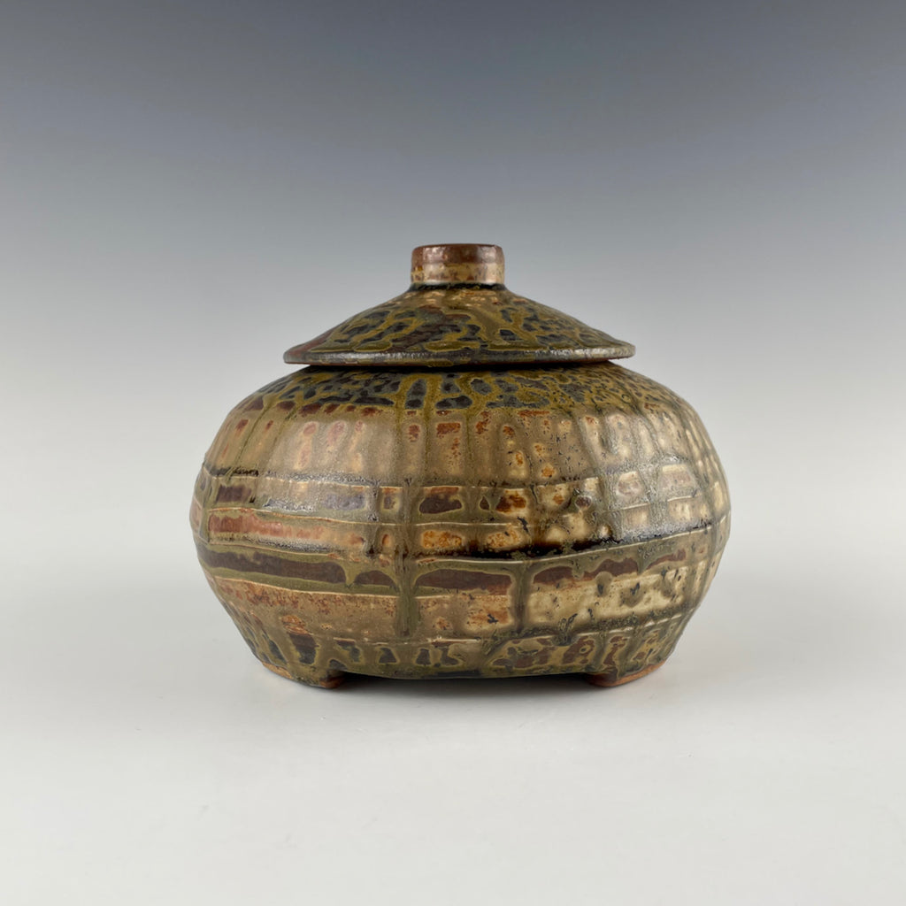 Robert Briscoe lidded jar