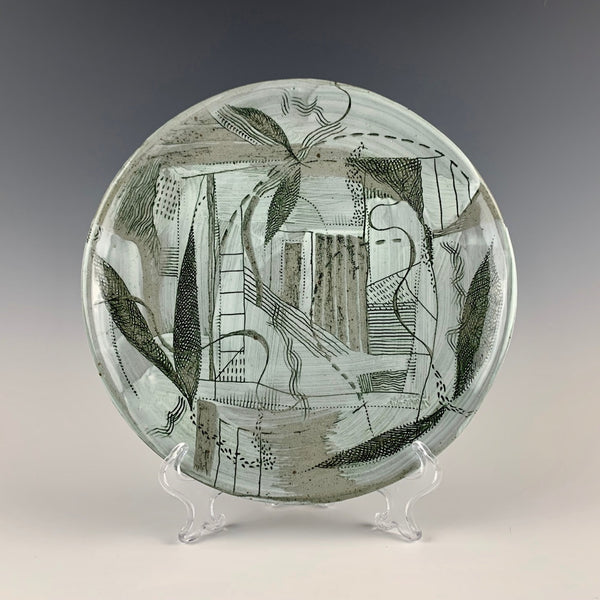 Barbara Strassberg illustrated platter