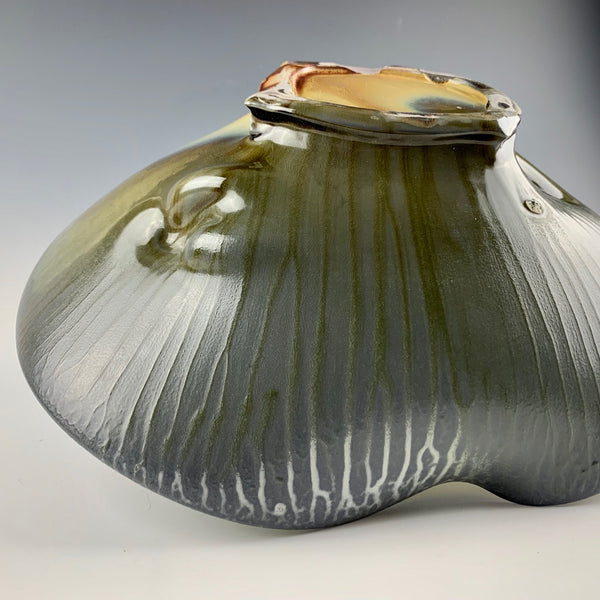 Chris Gustin dimpled bowl #1734