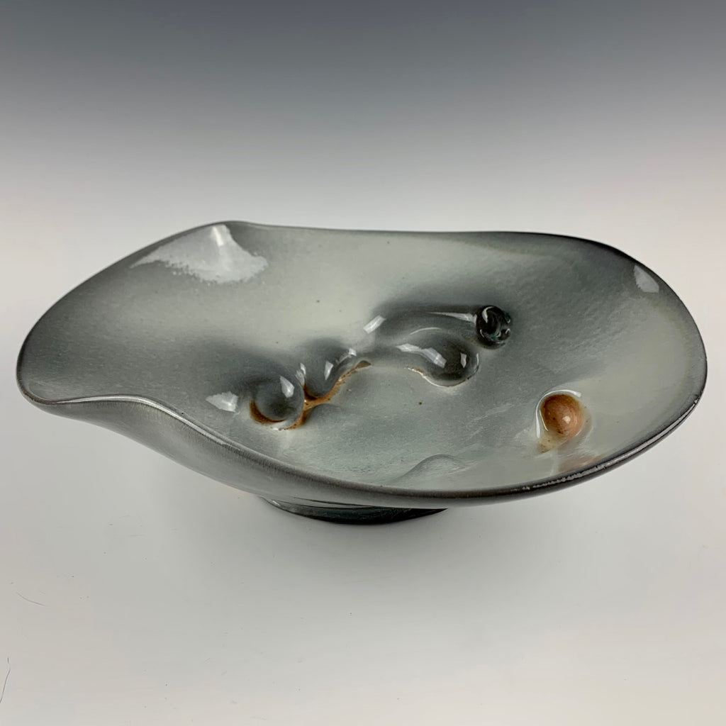 Chris Gustin dimpled bowl