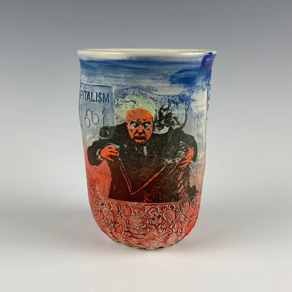 Ehren Tool cup, Trump and necrocapitalism
