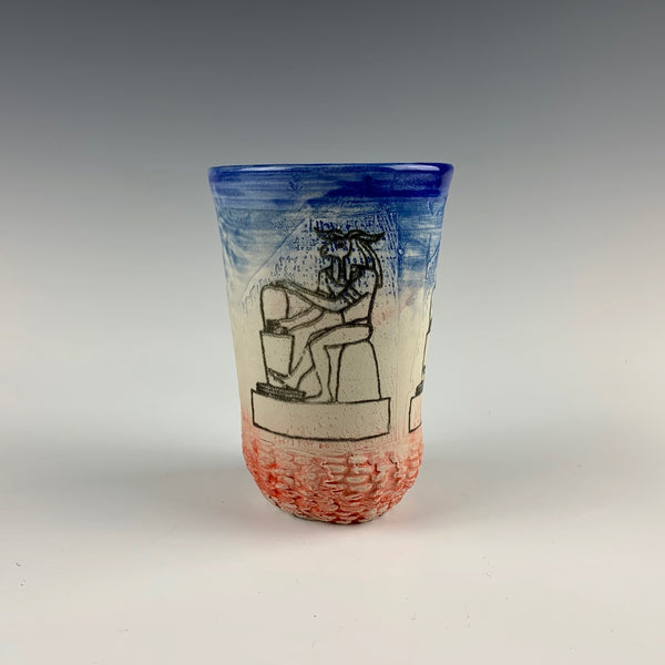 Ehren Tool cup, Egyptian potter