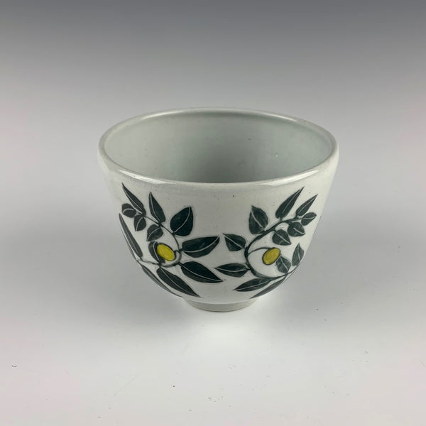 "Glynnis Lessing bowl, ""Alone"""