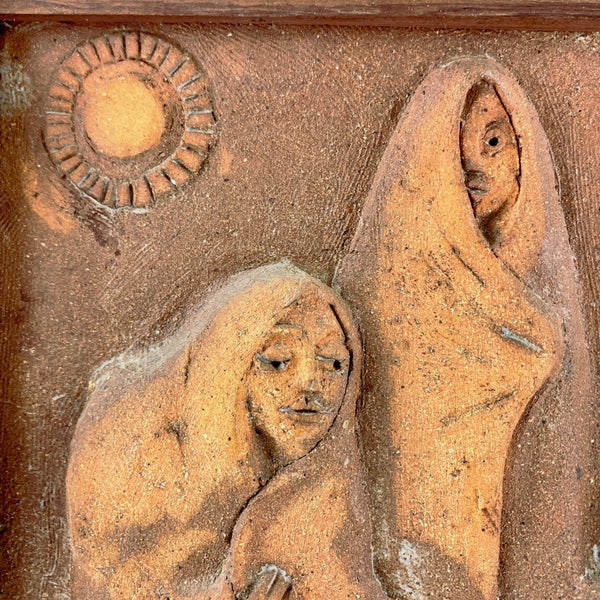 Marguerite Wildenhain sculptural tile