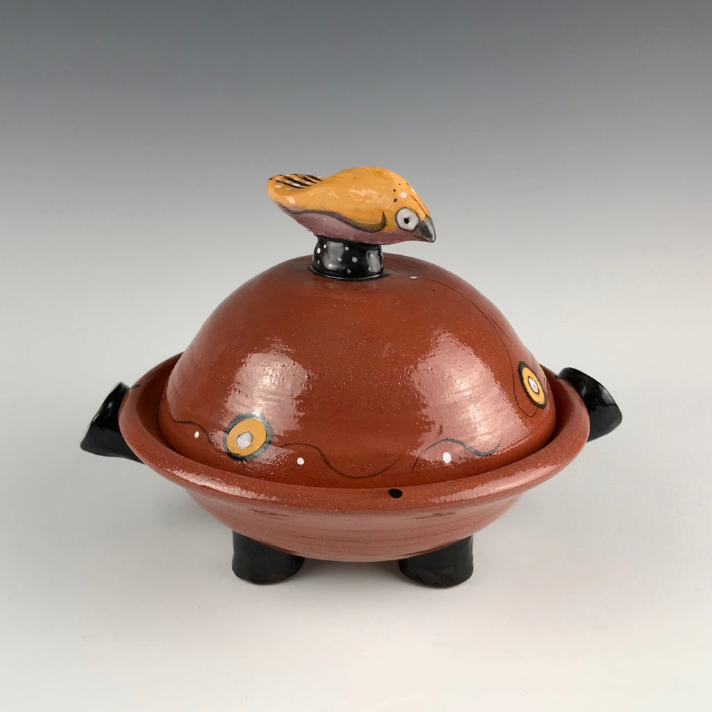 Michael Padgett domed serving dish