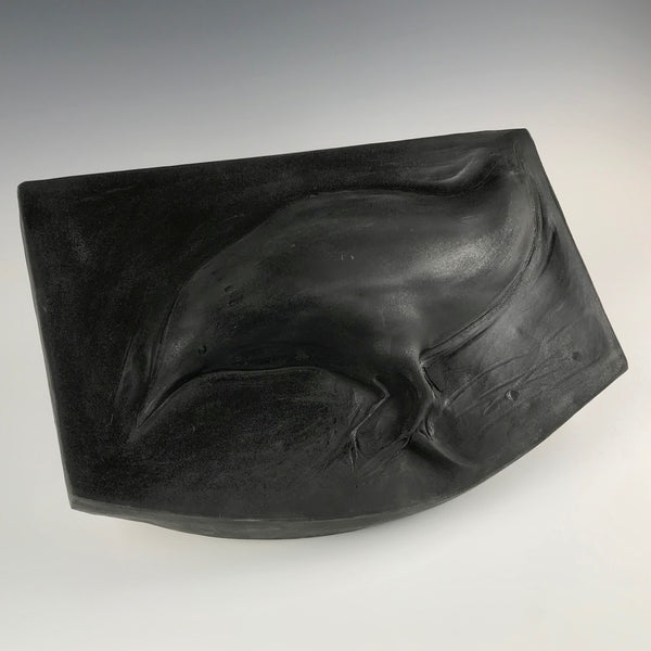 Michael Padgett wall relief, Black Bird #54