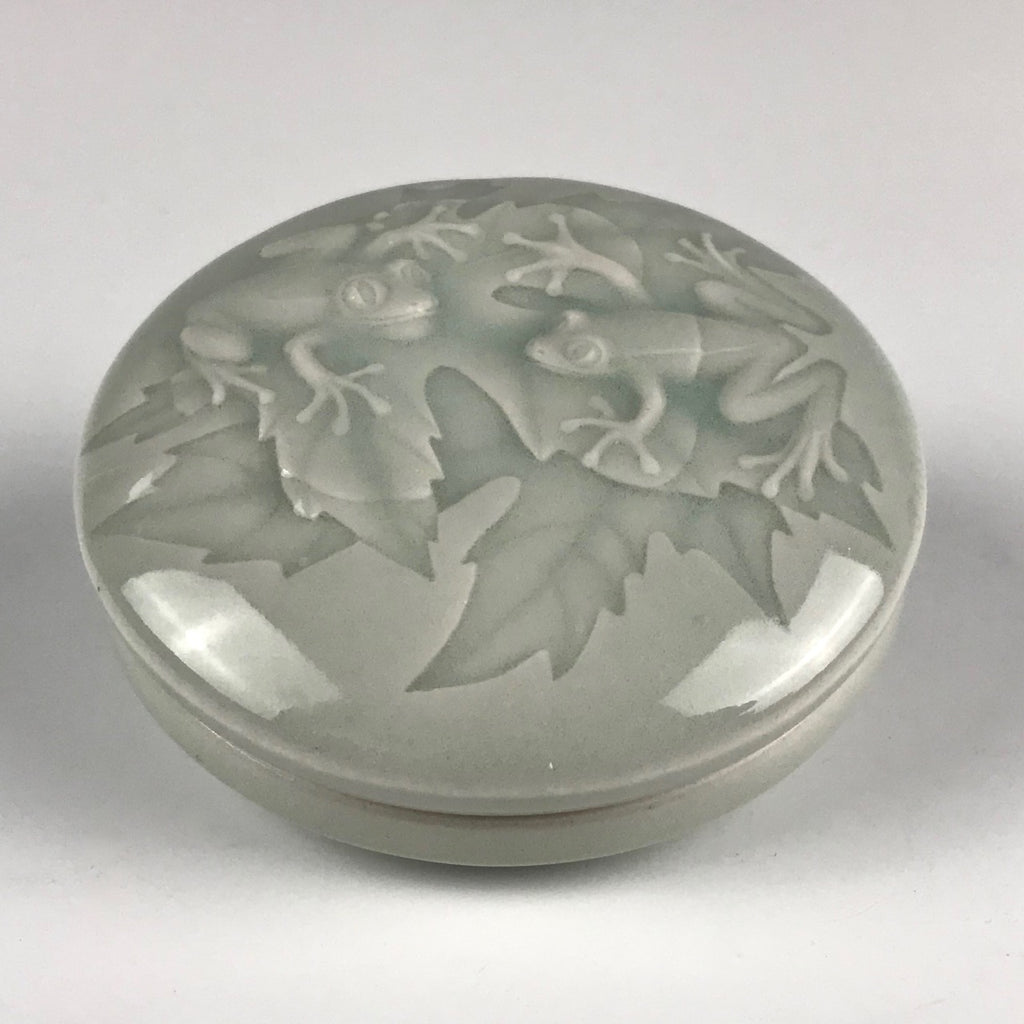 Janel Jacobson carved porcelain box- HOLD