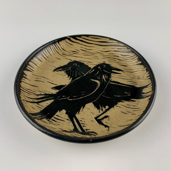 Judith Anderson raven plate