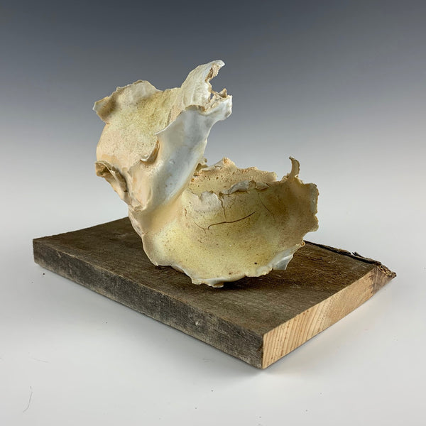 Lauryn Axelrod shot sculpture, white