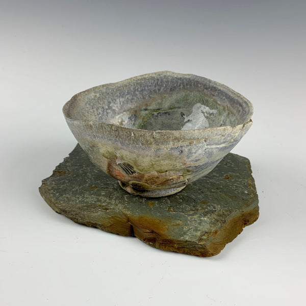 "Lauryn Axelrod teabowl ""The Way Scars Heal"""