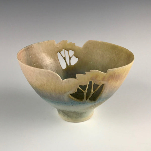 Mollie Hillam carved porcelain bowl