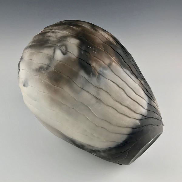 Nancy Meeker large pit-fired vase