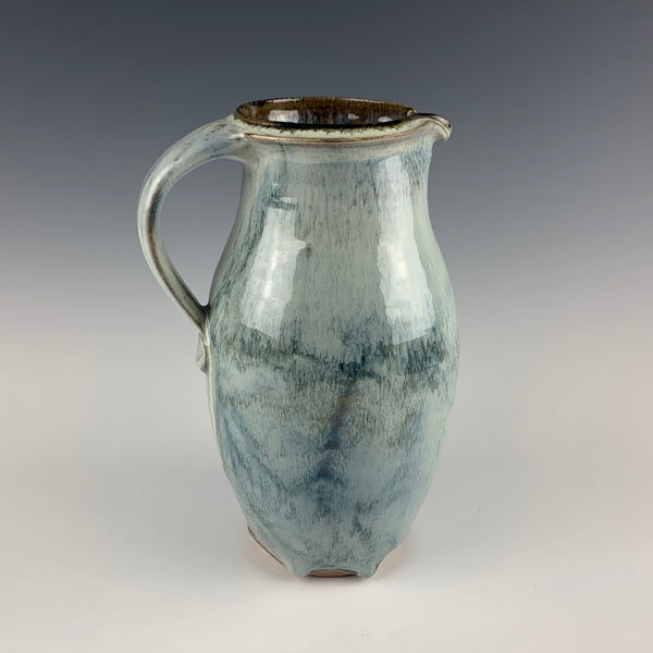 Richard Bresnahan pitcher with layered glaze, 2013
