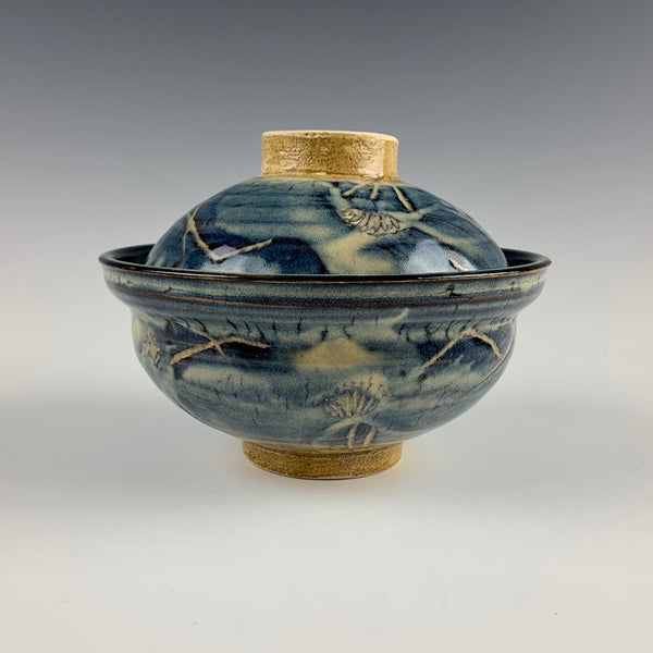 Richard Bresnahan bowl and lid set #1