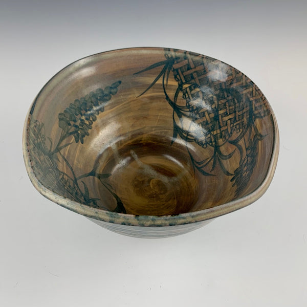 Richard Bresnahan squared bowl, 1998