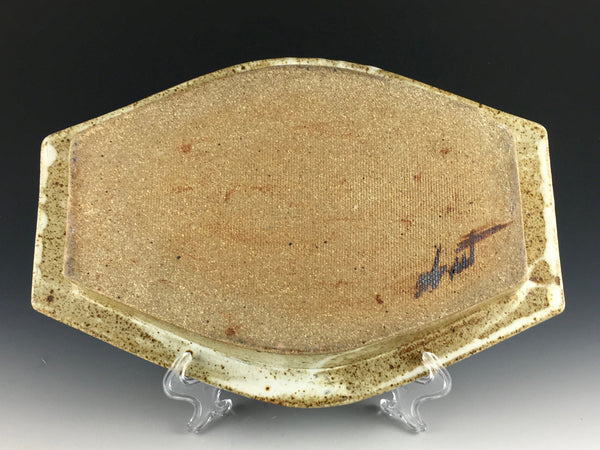 Richard Abnet stoneware centerpiece tray