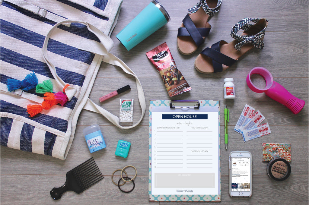 Summer Sorority Recruitment Prep: How to Build a Rush Week Essentials Kit!