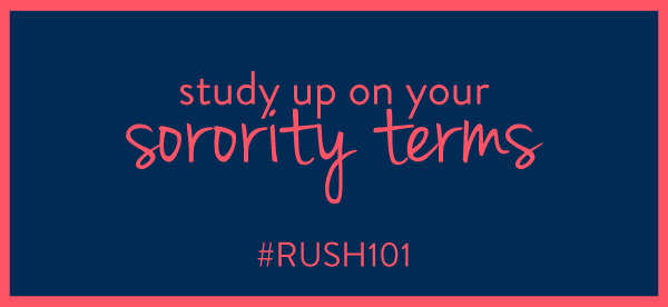 What is a LOS, a Rec Letter, and a RIF? How to get letters of recommendation for sorority recruitment!